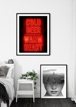 Neon Sign Cold Beer