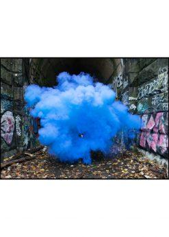 Blue Urban Smoke