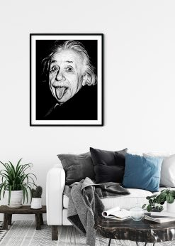 Albert Einstein Tongue