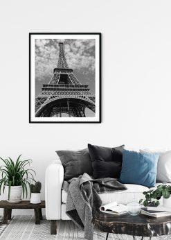 Eiffel Tower Paris From Below