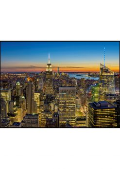 Night over South of Manhattan