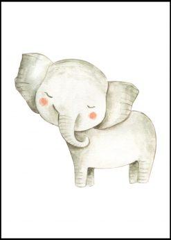 Cute Elephant Blush