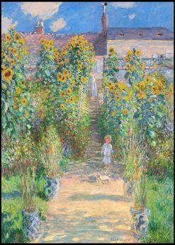 The Artist´s Garden at Vétheuil