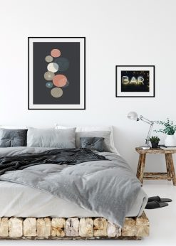 Round Patterned Wall Art