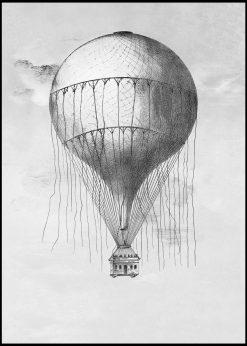 Hot Air Balloon Vintage