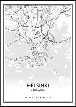 Map of Helsinki nr.1