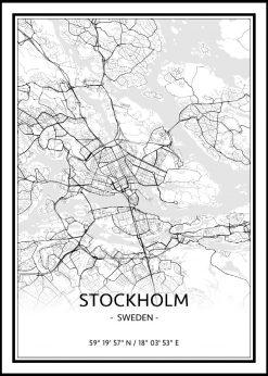 Map of Stockholm nr.1