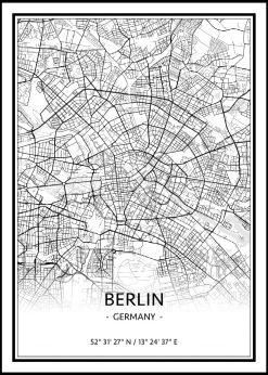 Map of Berlin nr.1