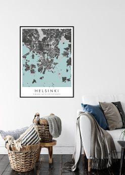 Map of Helsinki nr.2