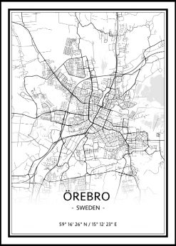 Map of Örebro nr.1