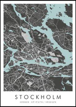 Map of Stockholm nr.2