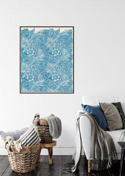 Blue Marigold by William Morris