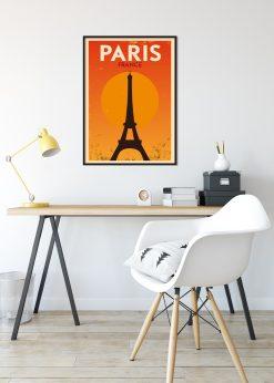 Paris France Vintage City