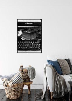 Old Typing Machine