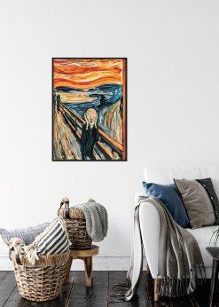 """The Scream"" Expressionist Art"