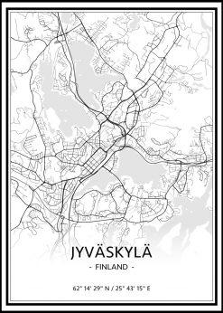 Map of Jyväskylä nr.1
