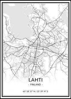 Map of Lahti nr.1