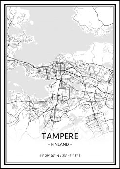 Map of Tampere nr.1