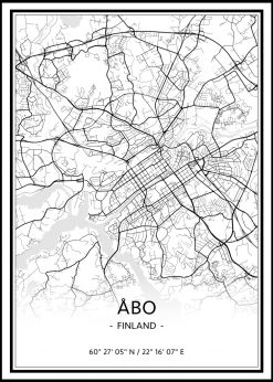 Map of Åbo nr.1