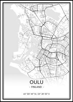 Map of Oulu nr.1