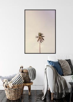 Lonely Palm Tree