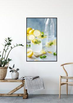 Lemon and Fresh Mint