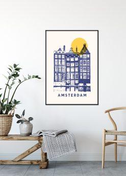 Amsterdam Print by Florent Bodart