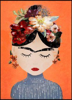 Frida Orange by treechild