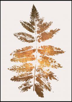 Oak Leaf Print by Kubistika