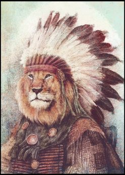 Chief Lion by Mike Koubou