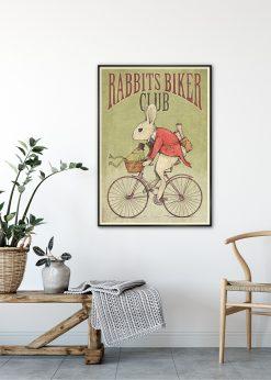 Rabbits Biker Club by Mike Koubou