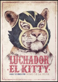 Wrestling Tiger by Mike Koubou