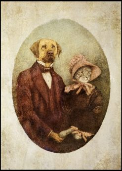 Like Dog and Cat by Mike Koubou