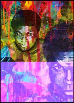 Muhammad Ali Purple by Didier Chastan