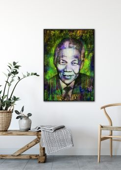 Nelson Mandela Green by Didier Chastan