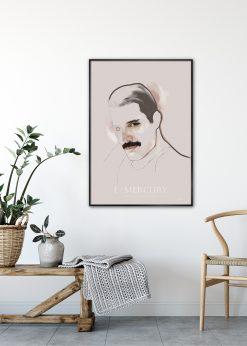 Freddie Mercury by Gabriella Roberg