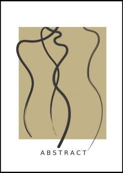 Abstract Figures No. 1 by Linnea Nygren