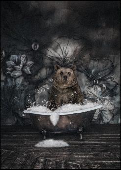 Evening Bath by Jenni Tervahauta